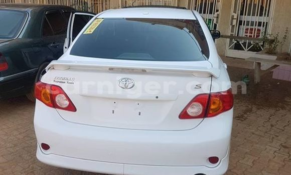 Acheter Occasion Voiture Toyota Corolla Blanc à Niamey, Niamey