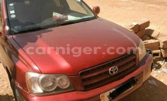 Acheter Occasion Voiture Toyota Highlander Rouge à Niamey, Niamey