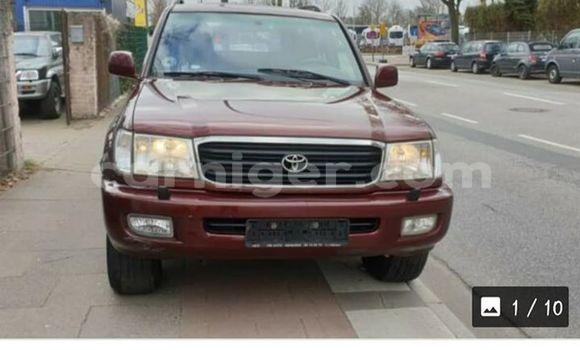 Acheter Occasion Voiture Toyota Land Cruiser Rouge à Niamey, Niamey