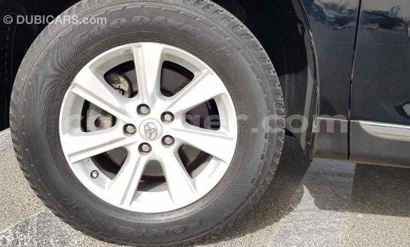 Acheter Importé Voiture Toyota Highlander Noir à Import - Dubai, Agadez