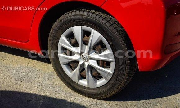 Acheter Importé Voiture Toyota Yaris Rouge à Import - Dubai, Agadez