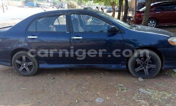 Acheter Occasion Voiture Toyota Corolla Bleu à Arlit au Agadez
