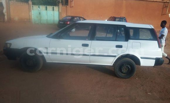 Acheter Occasion Voiture Toyota Tercel Blanc à Agadez, Agadez