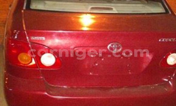 Acheter Occasion Voiture Toyota Corolla Rouge à Agadez au Agadez