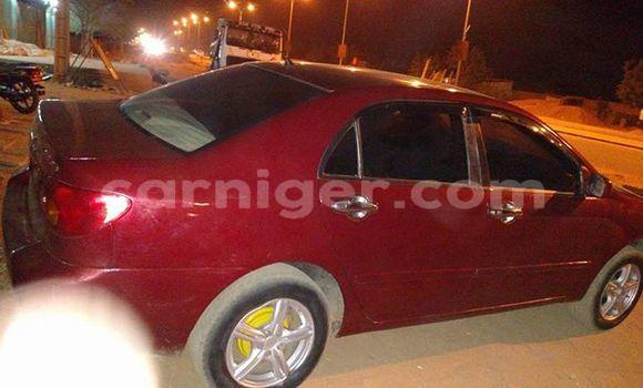 Acheter Occasion Voiture Toyota Corolla Rouge à Agadez, Agadez