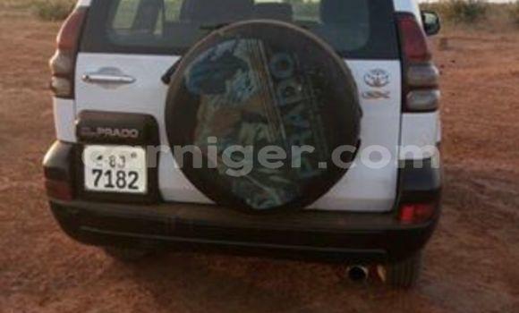 Acheter Occasion Voiture Toyota Land Cruiser Prado Blanc à Agadez au Agadez