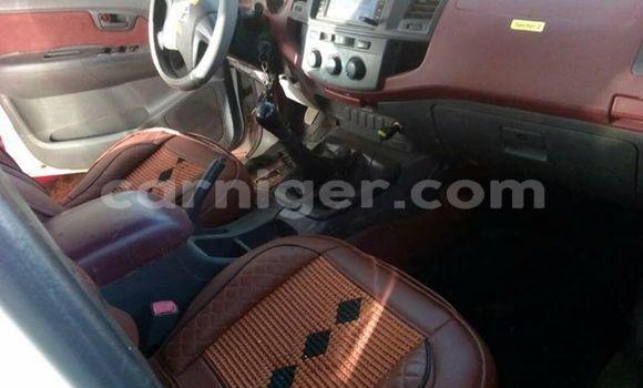 Acheter Occasion Voiture Toyota Hilux Blanc à Agadez au Agadez