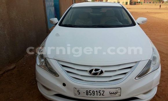 Acheter Occasion Voiture Hyundai Sonata Blanc à Agadez au Agadez