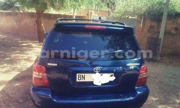 Acheter Occasion Voiture Toyota Highlander Bleu à Niamey, Niamey