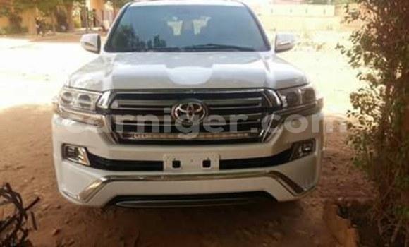 Acheter Occasion Voiture Toyota Land Cruiser Blanc à Niamey au Niamey