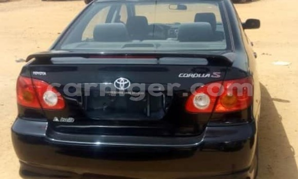 Acheter Occasions Voiture Toyota Corolla Noir à Niamey au Niamey