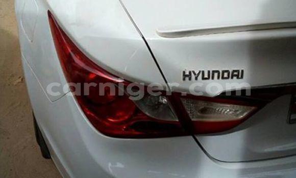 Acheter Occasions Voiture Hyundai Sonata Blanc à Niamey au Niamey